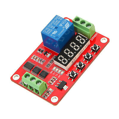 DC 12V Multifunctional Relay Module With LED Display Delay /Self