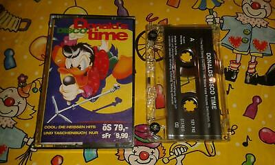 Kinderlieder Musik Kassette MC Donald's Disco time Walt Disney Cool heißen Hits