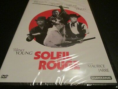"DVD NF ""SOLEIL ROUGE"" Charles BRONSON Ursula ANDRESS Alain DELON Toshiro MIFUNE"