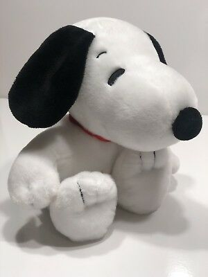 Snoopy, Peanuts Plush Teddy With Red Collar Soft