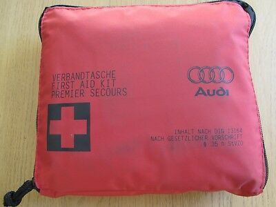 Genuine Audi In Car First Aid Kit Sterile Date 06-2020 A3 A4 Q3 TT A6
