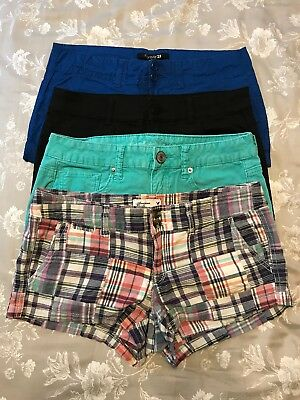 Shorts Lot Bundle Of 4 Cut Off Frayed 2 4 6 26 American Eagle H&M Forever 21