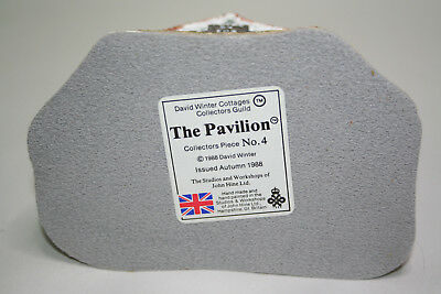 David Winter Cottages-The Pavillion Coll. Pc. #4