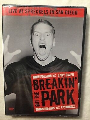 Gary Owen Breakin' Out The Park Live At Spreckels In San Diego DVD NEW! breaking