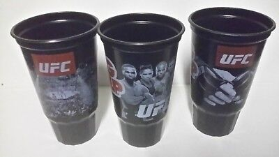 New set of 11 ufc plastic cold drink cups
