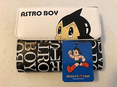 Astro Boy Wallet - Unisex - Brand New With Tags Might Atom Anime Retro Vintage