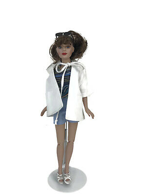 Tonner Tiny Kitty Collier Doll Brunette Beach Baby Outfit Vinyl Limited Ed 10""