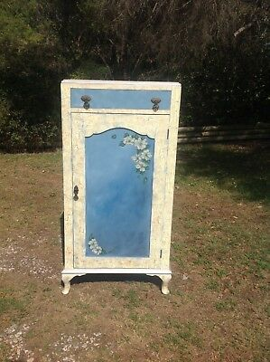 Cupboard Storage Vintage Has Been Upcycled Ready To Use-We Can Deliver For A Fee