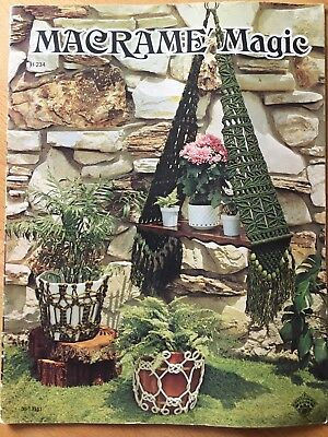 Macrame Magic 13 Projects - Just amazing projects !!!!  - L@@K   AS NEW
