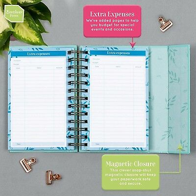 boxclever press budget book pretty monthly bill organizer budget