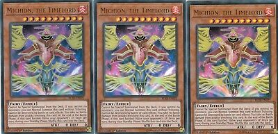 Yugioh 3 X Michion, The Timelord -  Blrr-En021- Ultra Relentless Revenge