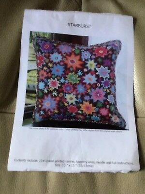 New Very Rare Ehrman Starburst Tapestry Kit By Kaffe Fassett**