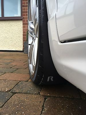 VW Scirocco R & GT Mud Flaps (Front & Rear)