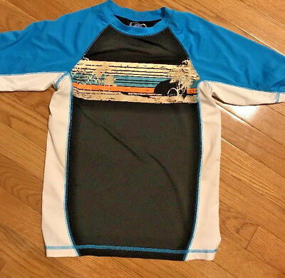 Op Boy's Blue Size M 8 Swim Shirt FREE SHIPPING