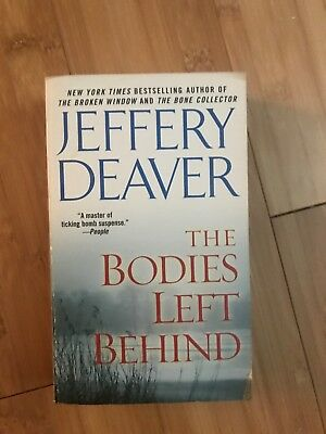 The Bodies Left Behind Jeffrey Deaver Book Paperback
