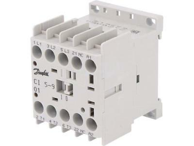 037H350532 Contactor3-pole Auxiliary contacts NC 230VAC 8.5A NO x3  DANFOSS