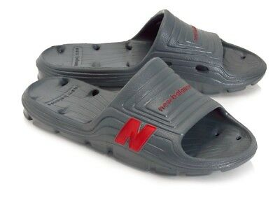 fe6a96ede4f0f New Balance Float Slide Mens Lightweight Sandals Charcoal Red Sz 12 & 13