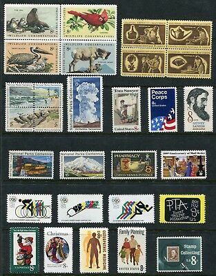 US 1972 Commemorative Year Set Complete MNH 29 Stamps Scott 1446-74 USA
