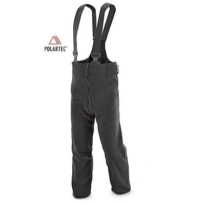 POLARTEC COLD WEATHER WINTER FLEECE PANTS BIBS US MILITARY XL extra large S/R L
