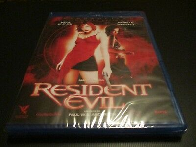 """BLU-RAY NEUF """"RESIDENT EVIL 1"""" Milla JOVOVICH, Michelle RODRIGUEZ / horreur"""