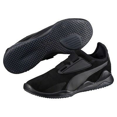 en soldes 7f096 28e4f NEW PUMA MENS mostro hypernature shoes sneakers black 364403-01 suede  leather
