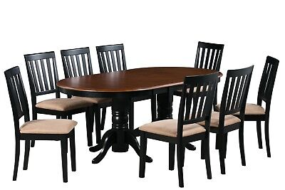 "Dinette Dining Room Table Set 42""x78"" W.  Soft Padded Seat In Black Cherry"