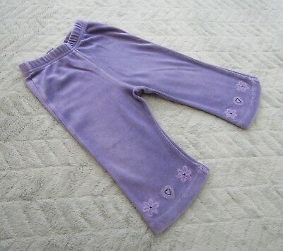 Baby Girls Purple Joggers/Jogging Pants (9-12 Months) - By Next