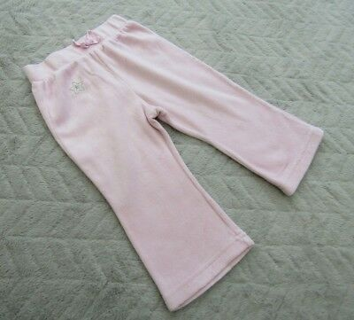 Baby Girls Pink Jogging Pants Bottoms Joggers (9-12 Months)