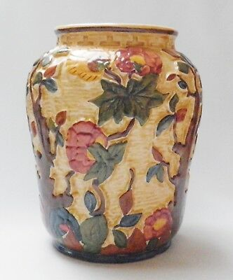 Very Large H J Wood Indian Tree Vase - Made in England