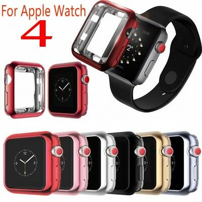 For Apple Watch Series 4 Full Protective TPU Bumper Case Cover iWatch 40mm/44mm