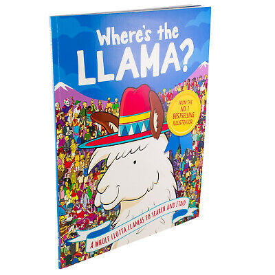 Where's the Llama? A Whole Llotta Llamas to Search and Find By Paul Moran