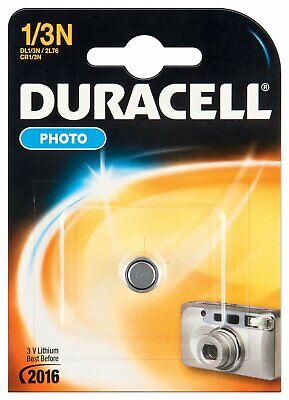 "DUR003323 Pile lithium ""Photo"" 1/3 N (CR1/3N/2L76) 3V Blister de 1"