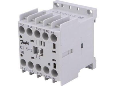 037H350232 Contactor3-pole Auxiliary contacts NO 230VAC 4.9A NO x3  DANFOSS