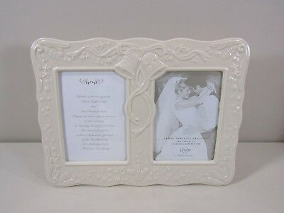 Lenox Double Picture Photo Wedding Frame