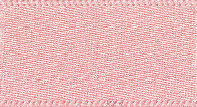 50 metre roll of Berisfords Double Satin Ribbon - 10mm Pink 2 - Clearance