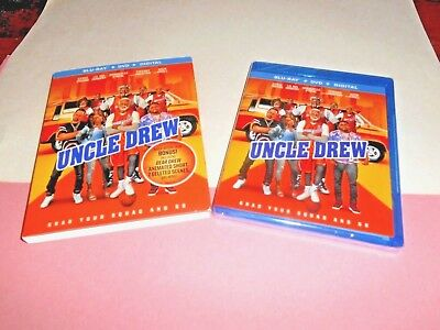 Uncle Drew: Kyrie Irving, Shaquille O'Neal; Blu-ray/DVD+ Digital] NEW Fast Ship