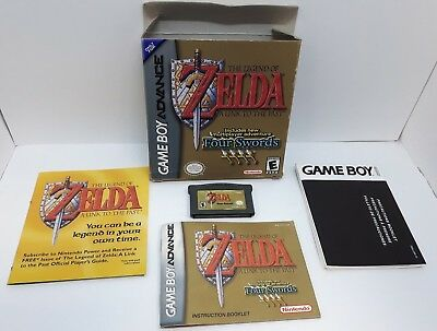 Legend of Zelda: A Link to the Past (Nintendo Game Boy Advance, 2002) **CIB**