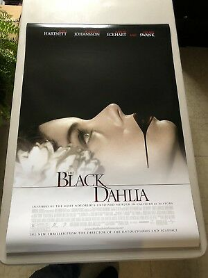 The Black Dahlia - Original Double Sided 27x40 Theater Movie Poster