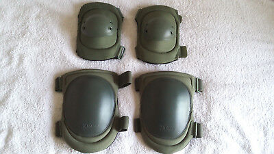 Blackhawk Hellstorm,  Elbow Pads And Knee Pads, Olive Green, Airsoft, Milsim