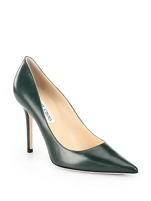 d0df0ae7b8 CLASSIC SHOES! Jimmy Choo ABEL Leather Pointy Toe 100mm High Heel Size 41 US  11