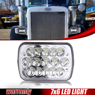 """5x7"""" LED Headlight H4 For Jeep Cherokee XJ H6014/H6054 H6052 Wide application"""