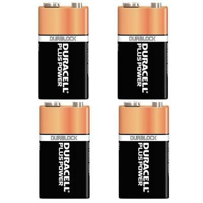 5 x Duracell 9V Alkaline Batteries Plus Duralock CopperTop PP3 LR22 BLOC MN1604