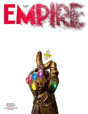 Empire Magazine December 2018: AVENGERS INFINITY WAR SUBSCRIBER COVER by JACEY