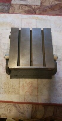 "6 1/8"" x 6 1/8"" Sine Plate, Adjustable Leveled Steel Plate With T-Nut Slots"