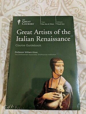 Great Artists of the Italian Renaissance - Great Courses - DVD/Book - NEW!!