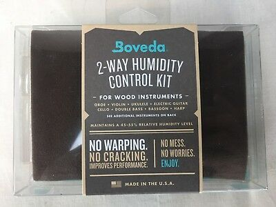 Boveda 49-Percent RH Two-Way Humidity Control Wood Instrument Violin-Guitar