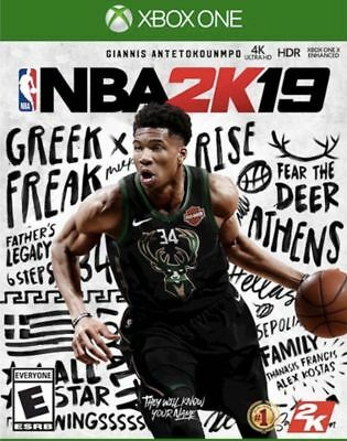 NBA 2K19 Xbox One (Download Card) NEW