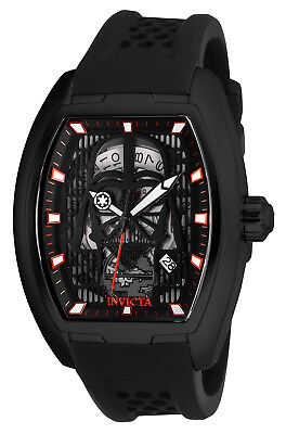 Invicta Men's 26942 'Star Wars' Darth Vader Automatic Black Silicone Watch
