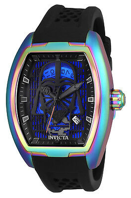 Invicta Men's 26943 'Star Wars' Darth Vader Automatic Black Silicone Watch