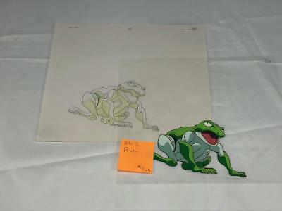Transformers Japanese Beast Wars 2 Ii Diver Animation Art Cell Lot 283